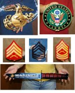 Military Metal Signs & Decal